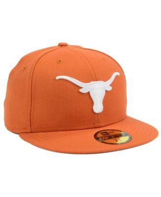 low cost 8b9ee cd23a cheap new era texas longhorns classic wool fitted 59fifty cap white 7 1 2  a7c1a 5457e