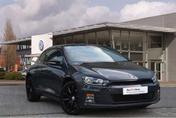 Used 2016 Volkswagen Scirocco Coupe 3 Dr 2 0 Tdi Gt Black Edition
