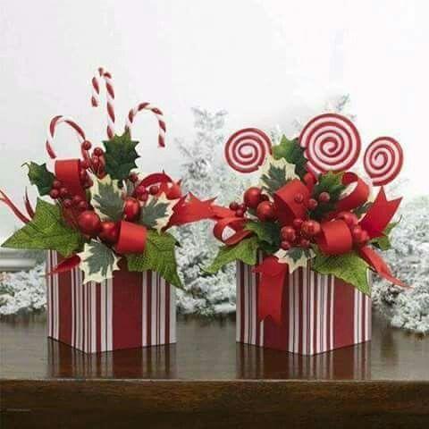 Adornos navideos sencillos Its Christmas Pinterest Adornos
