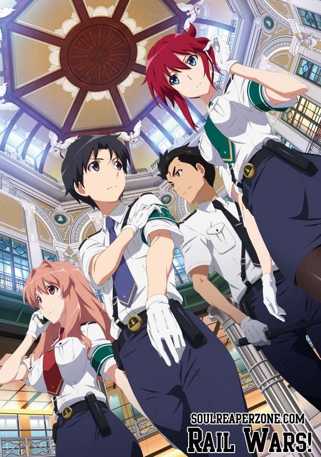 Rail Wars! All Episodes 480p 60MB (Not Watched Yet
