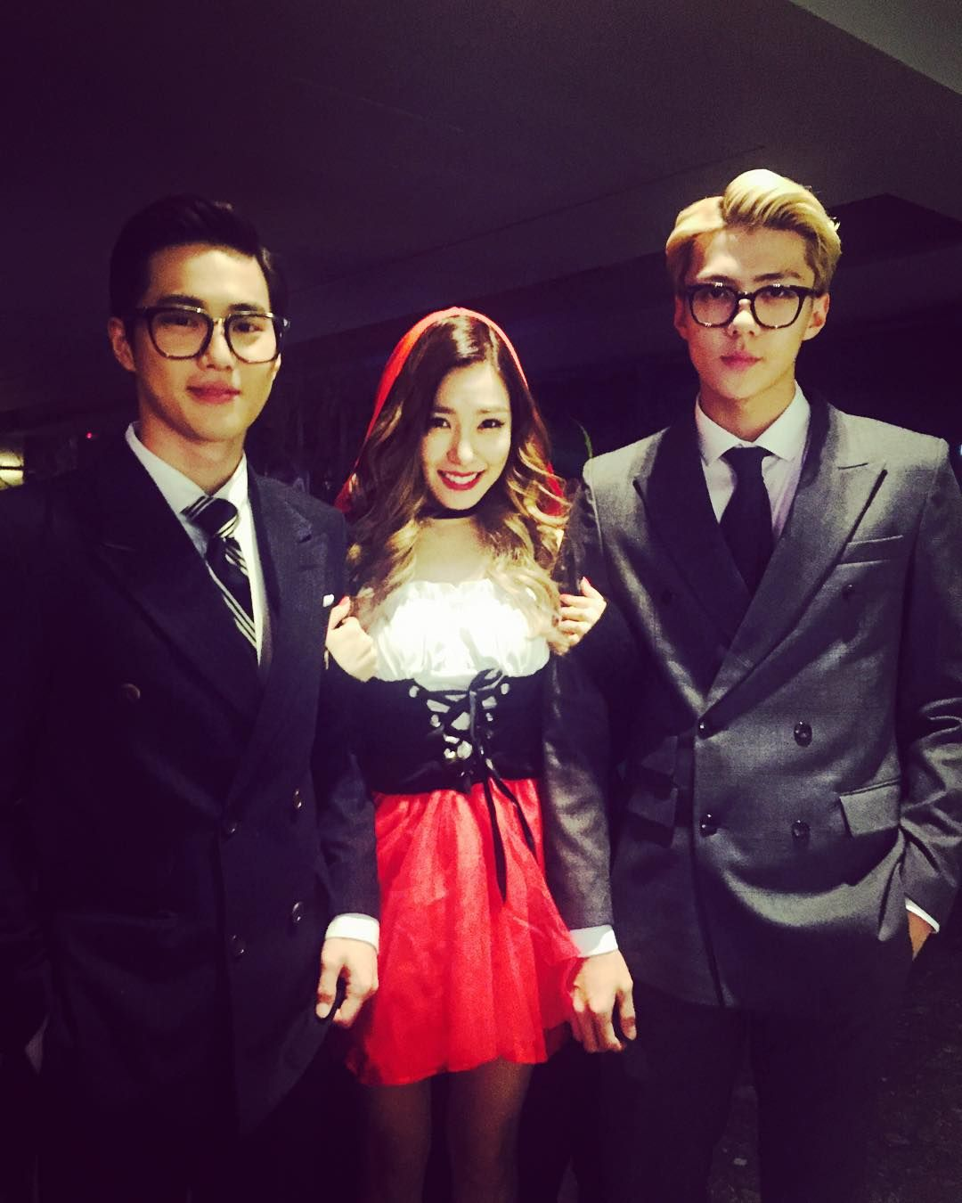 SM Halloween Party 151029 : SMTOWN WONDERLAND - Suho and Sehun in ...