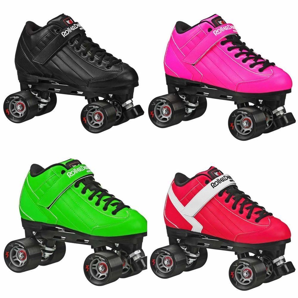 Roller skates for plus size - New Adult Roller Derby Elite Stomp 5 Speed Skates Men Size 4 12