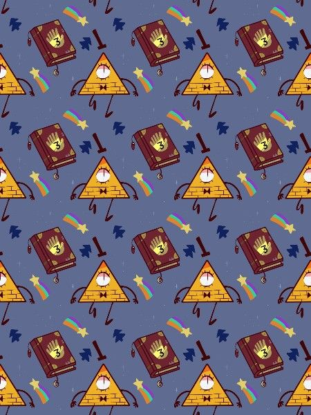 Bill Cipher Wallpaper Fall Iphone Gravity Falls