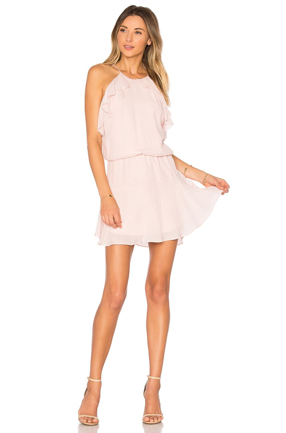 Cheap Wide Range Of Discount Outlet Glass Dress in Blush Assali Free Shipping Pick A Best Low Price Fee Shipping Sale Online Outlet Store Cheap Price rvKBI