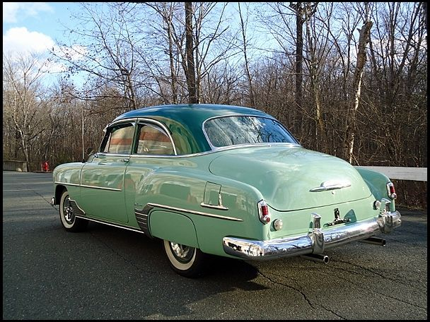 1952 Chevrolet Styleline Deluxe Two Door Coupe Chevrolet Classic Cars Car