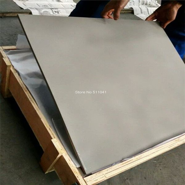 Gr5 Titanium Alloy Plate Sheet 10mm Thick 800mm Width 800mm L 1pc Gr5 6al4v Tian Sheet Free Shipping Titanium Metal Titanium Diy Supplies
