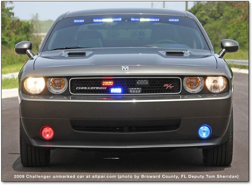 Undercover 2013 Dodge Challenger Private Security