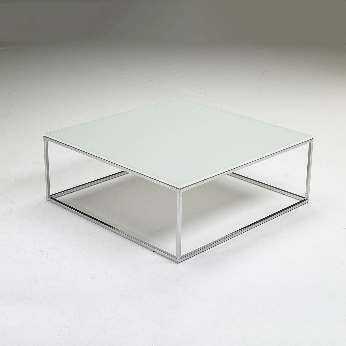 Cabaret Glass Coffee Table White