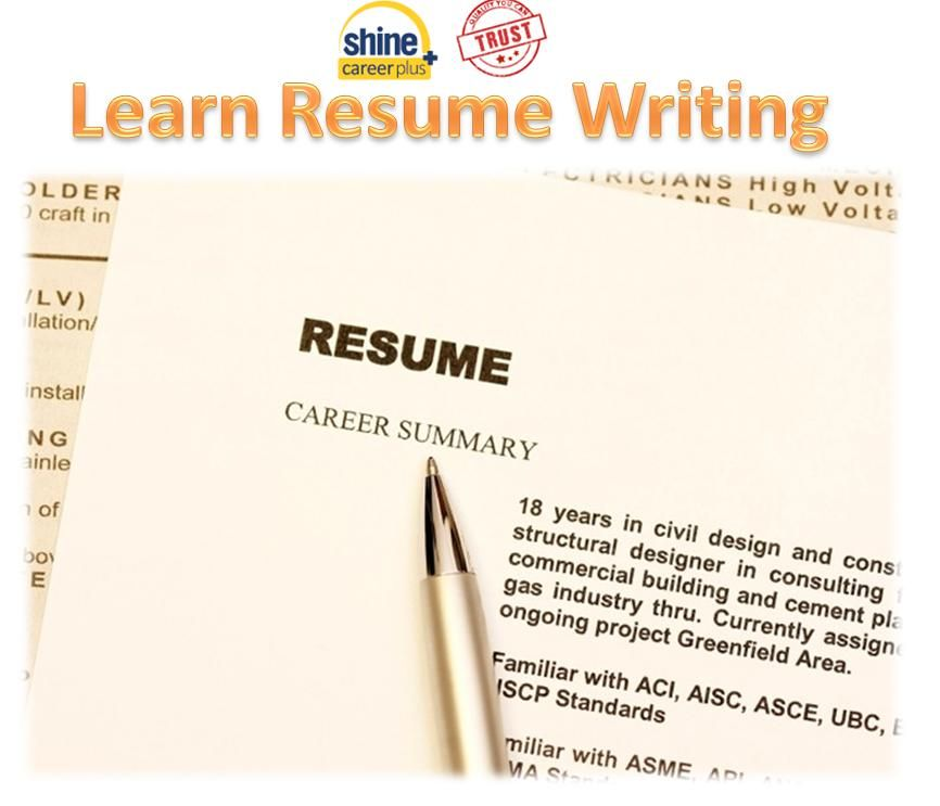 Learn how to write a resume through examples best online