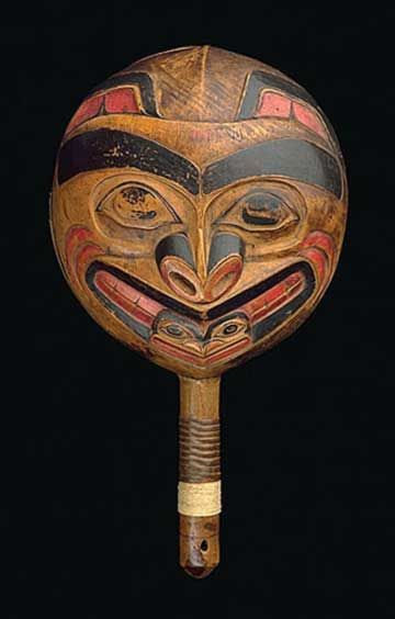 File:Shaman rattle, Venezuela - Museo de las Americas - San Juan ...