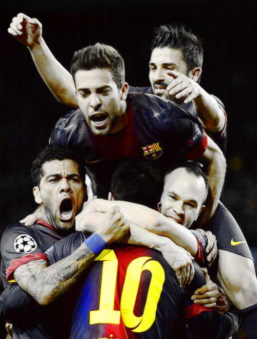 12 03 2013 Deportes Visca Barca Champions
