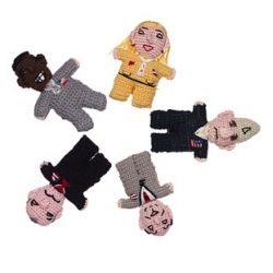 Political Finger puppets ~ the perfect gift set for the politics obsessed to act out their issues