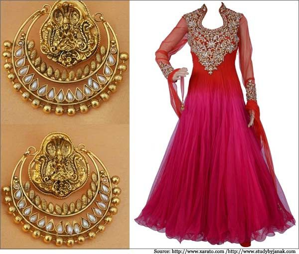 Ram Leela Earrings Collection   Deepika Padukone, Pearl ...