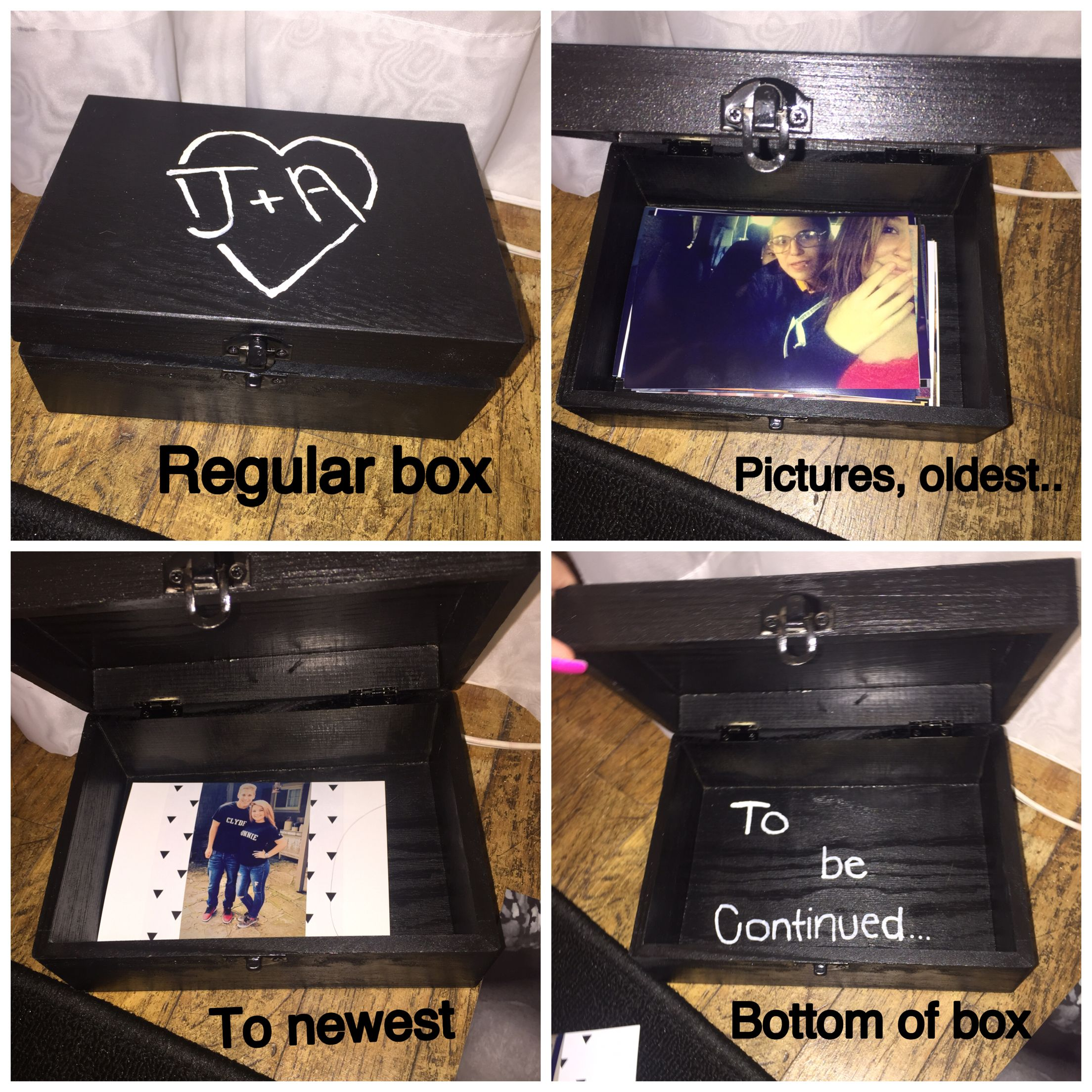 DIY cute gift for boyfriend. Pictures. Him