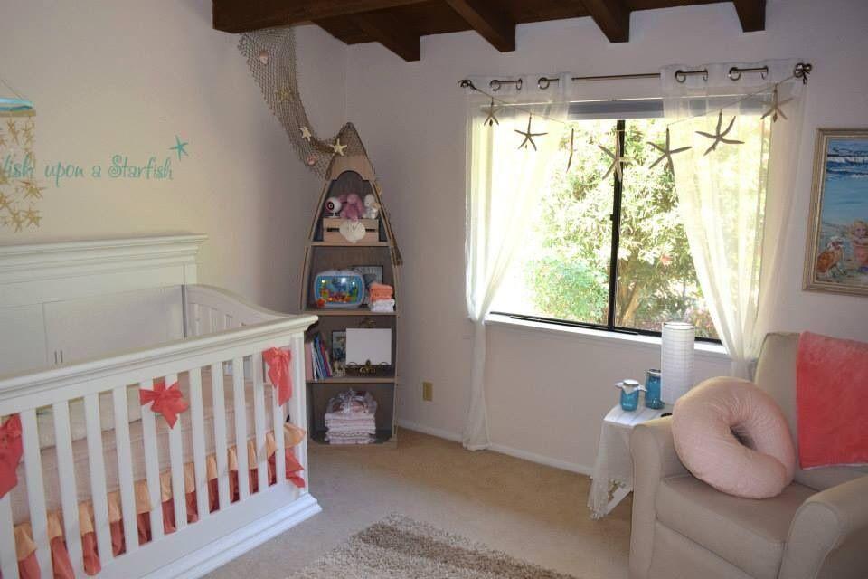 Beach Themed Nursery For Project Baby A Age Newborn Location California Description