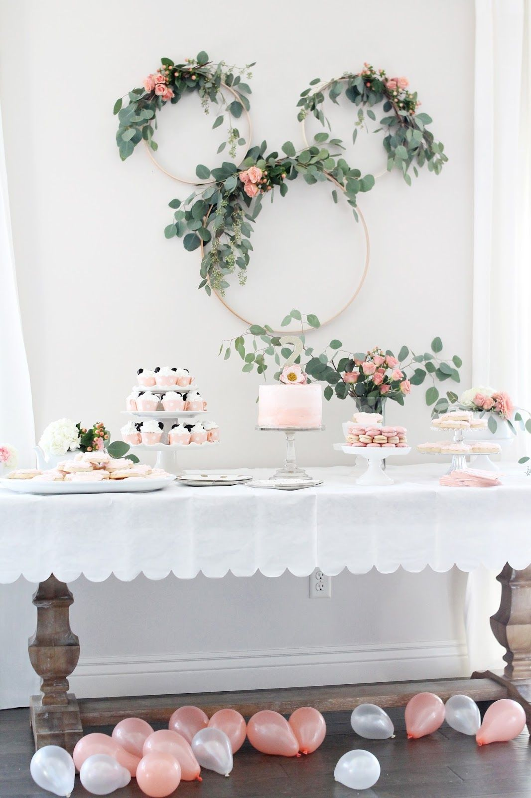 Minnie Mouse Tea Party Second Birthday | My Home + Blog | Pinterest ...