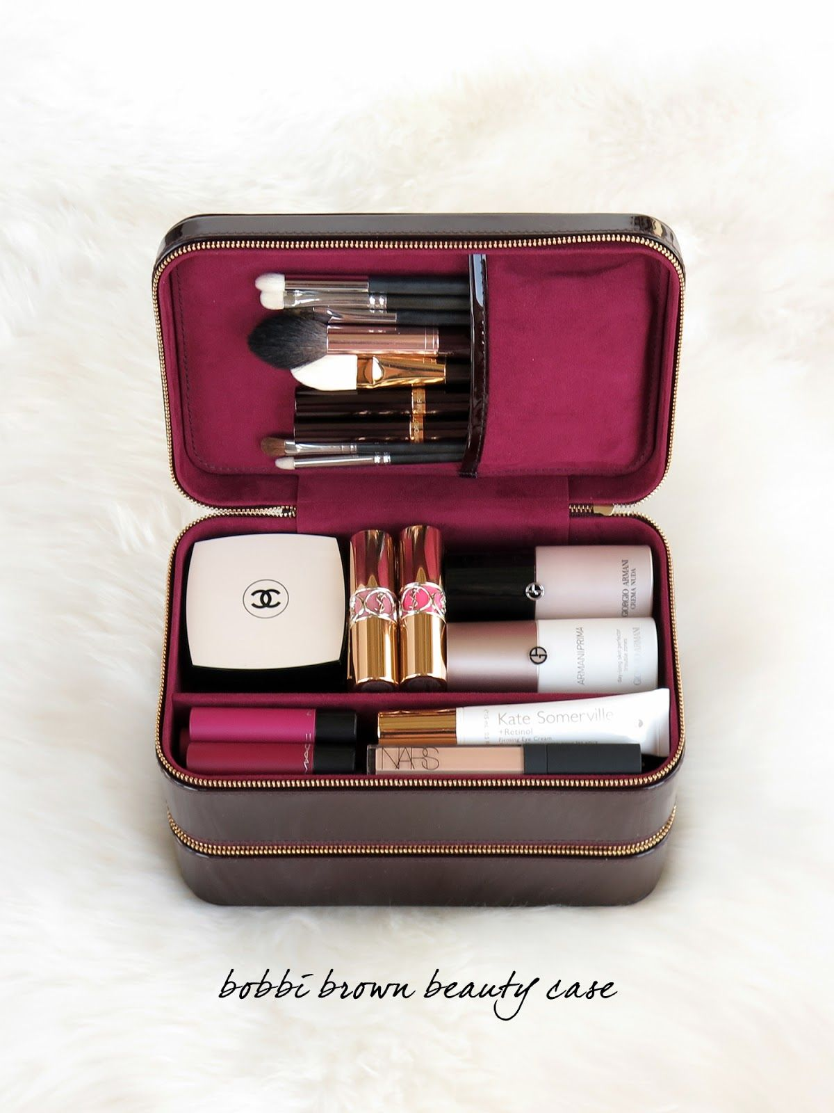 The Beauty Look Book Bobbi Brown Beauty Travel Case