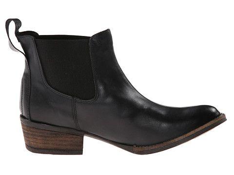 Gabriella Rocha Shetland Black Vintage Leather