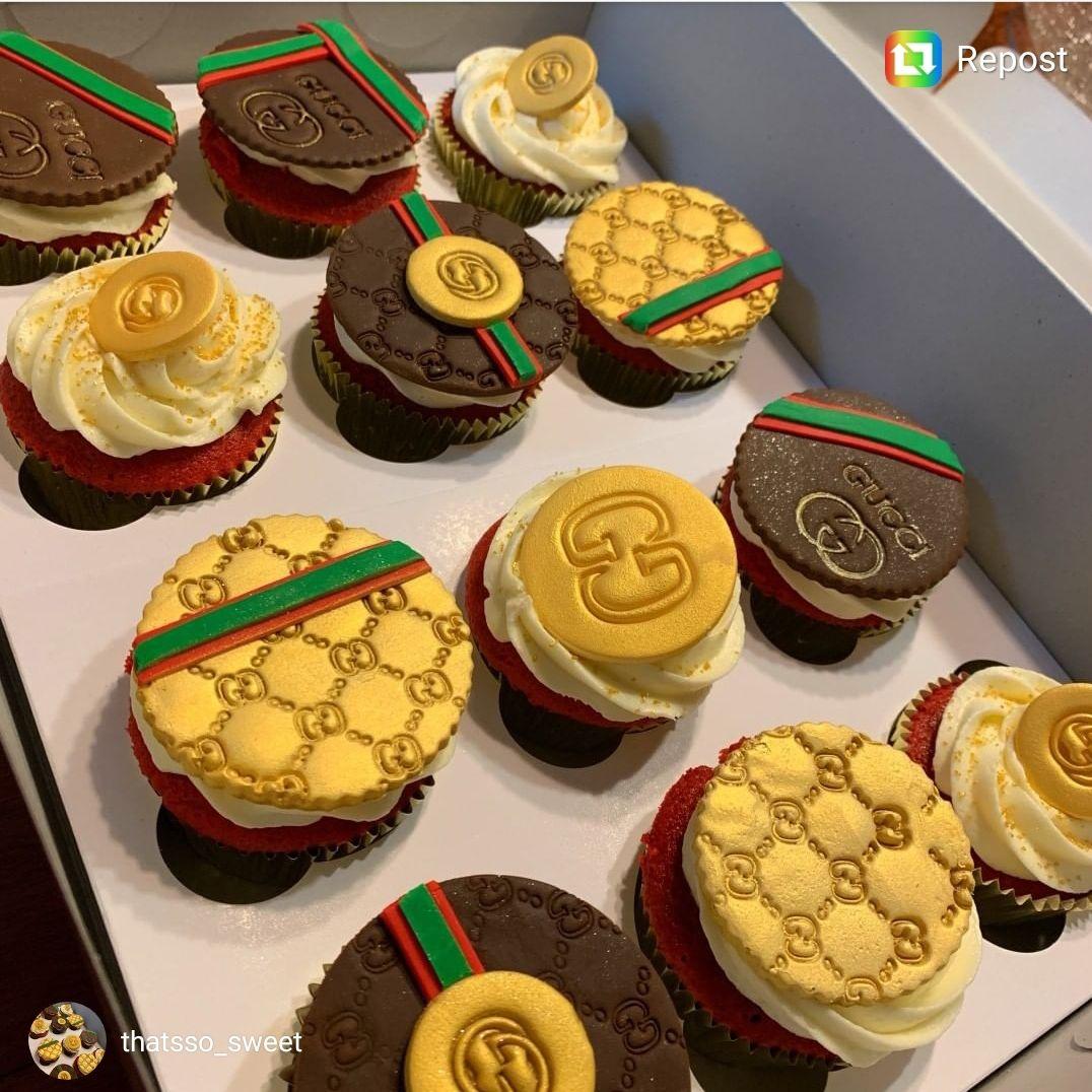 Gucci Embosser Stamp Set Fancy cupcakes, Cake designs