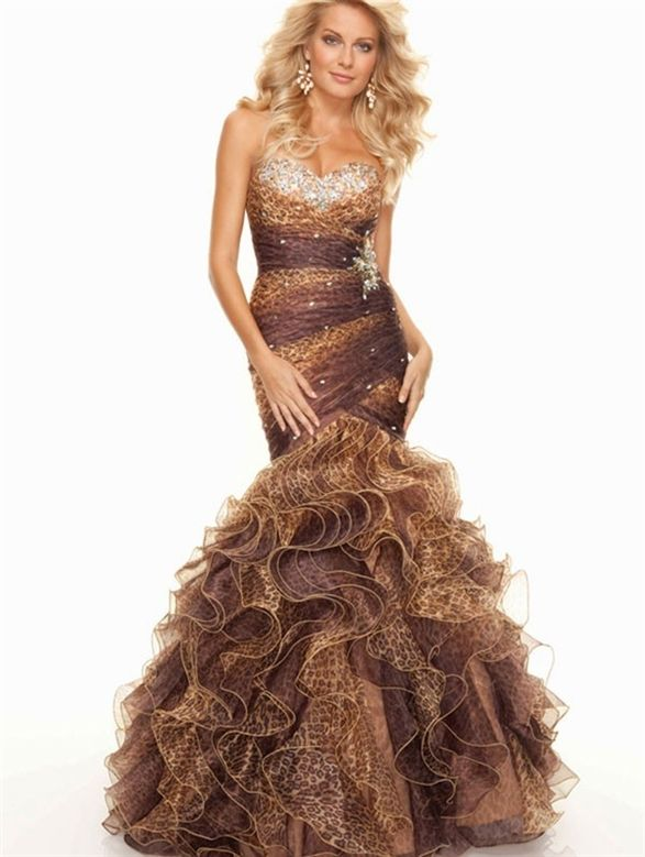 Cheetah sparkle prom dress | Prom/Homecoming | Pinterest ...