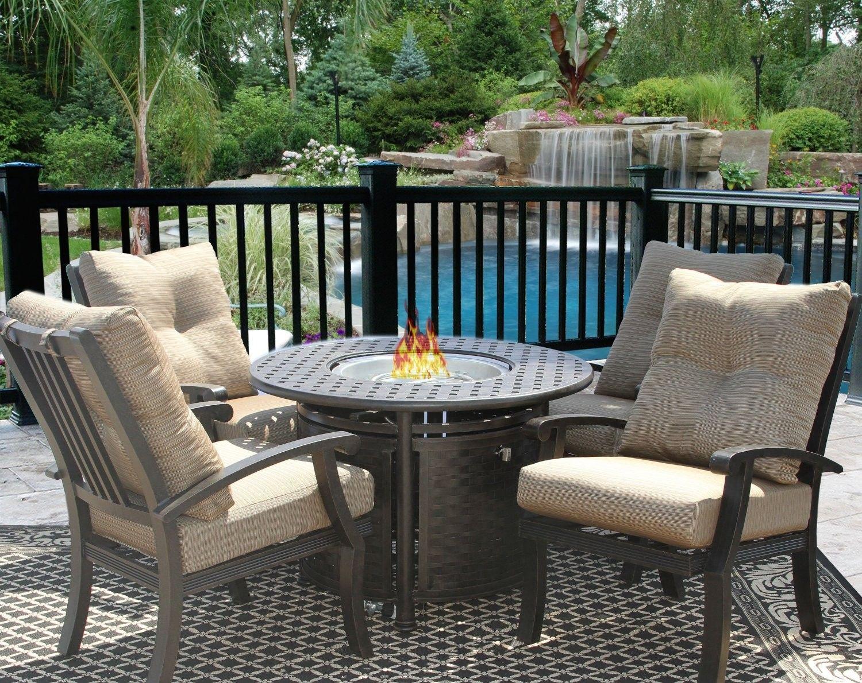 Outdoor Feuerstelle Setzt Die Sie Benotigen Kachelofen Outdoor Dining Set Cast Aluminum Patio Furniture Fire Table