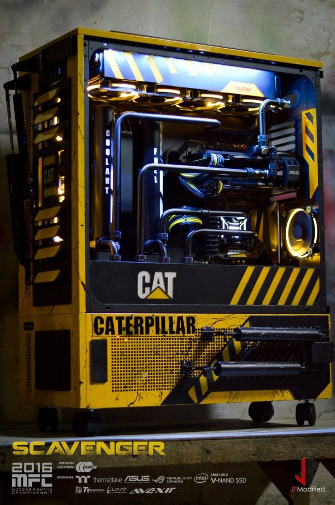 Scavenger Un Hallucinant Mod Caterpillar Pc Design In