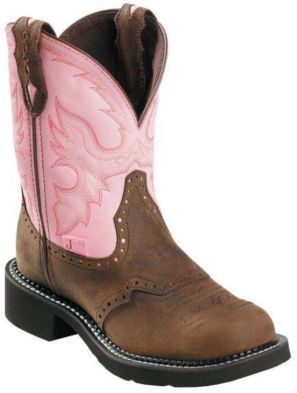 f754223fd45 Justin Gypsy Women's Wanette Pink Work Boots - Steel Toe | Cowgirl ...