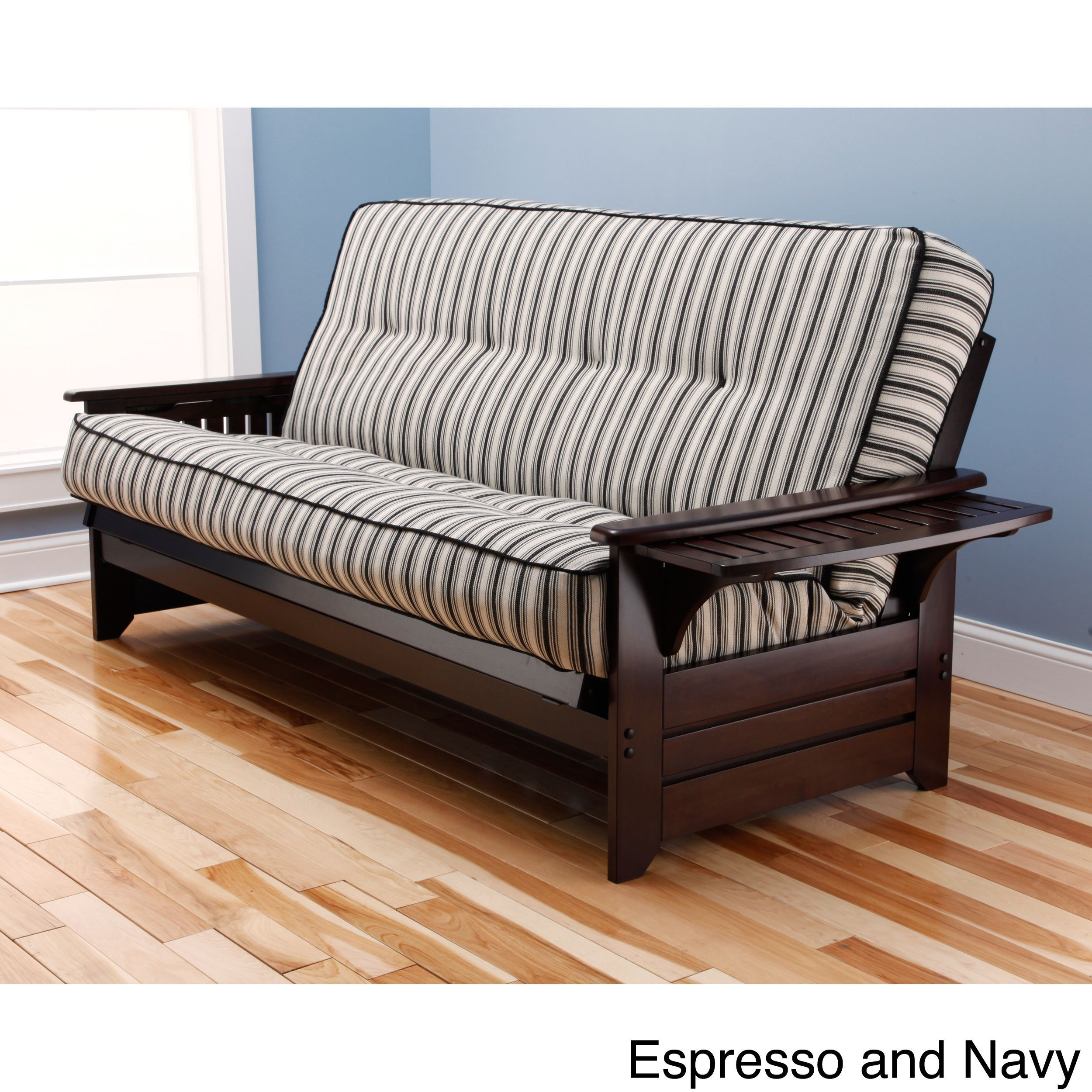 Somette Ali Phonics Multi-flex Espresso Full-size Wood Frame and ...