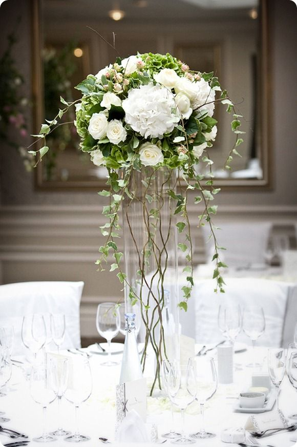 Ivy in flower arrangements! floral ideas Pinterest Arreglos