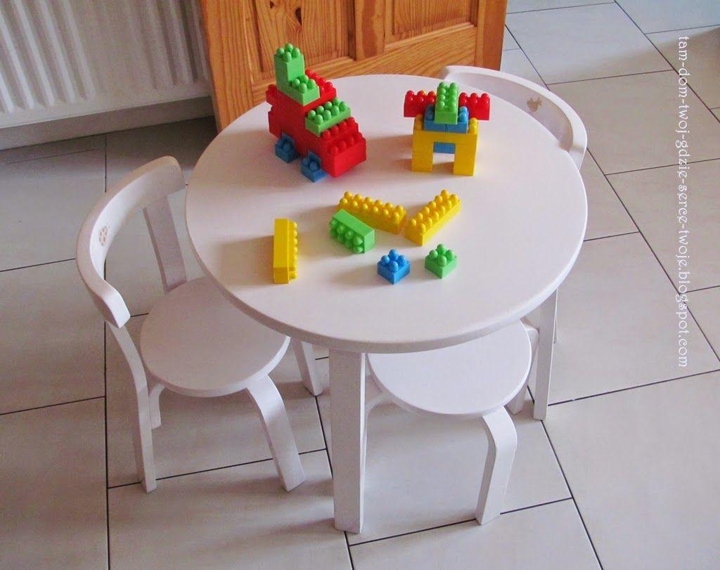 childrensu0027 table restored | Svan of Sweden | white childrenu0027s table and chairs set & childrensu0027 table restored | Svan of Sweden | white childrenu0027s table ...