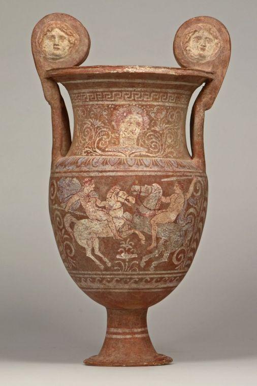 Funerary Vase From South Italy Ca 320 Bc Greek Roman