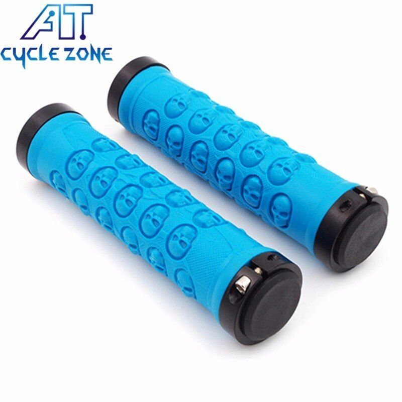 Skulls Universal MTB Mountain Bicycle  Bike Cycling Handlebar Rubber Hand Grips
