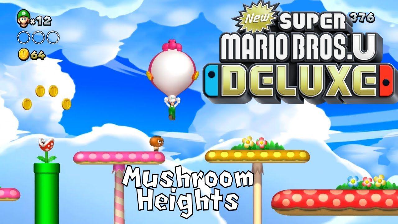 Newsuper Mario Bros U Deluxe Acorn Plains 4 Nsmbud Mario