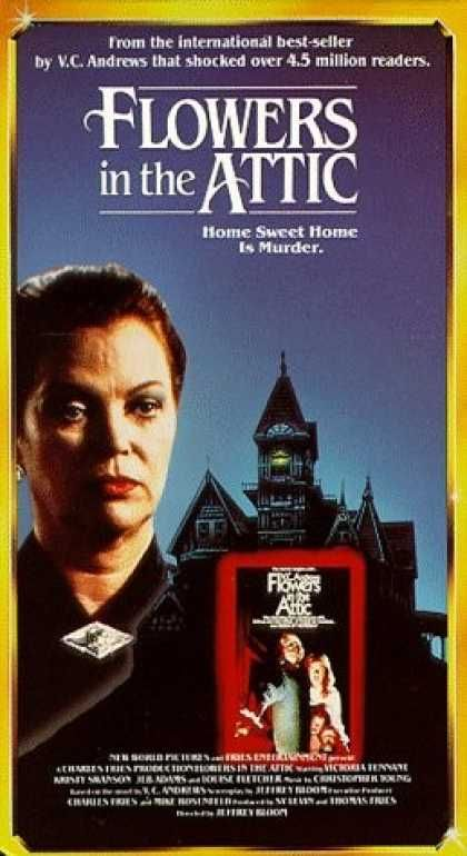 Vhs Videos Flowers In The Attic Thriller Movies Flowers In The Attic Horror Movies List