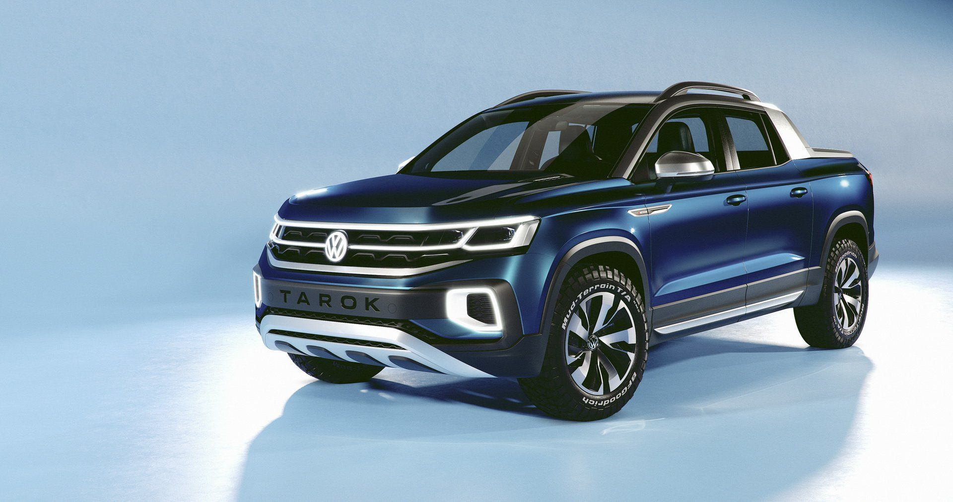 Vw Tarok Pickup Concept Arrives In Usa To See If You Re Interested