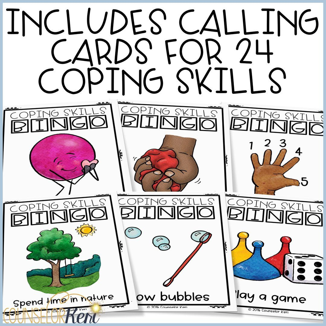 Coping Skills Bingo Looking For A Fun Way To Reinforce
