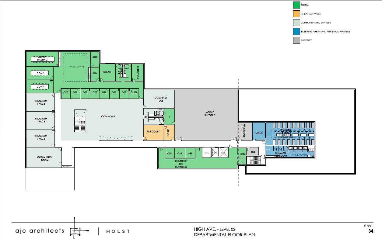 Floor Plans For Salt Lake Cities New Homeless Shelter Floor Plans Homeless Shelter How To Plan