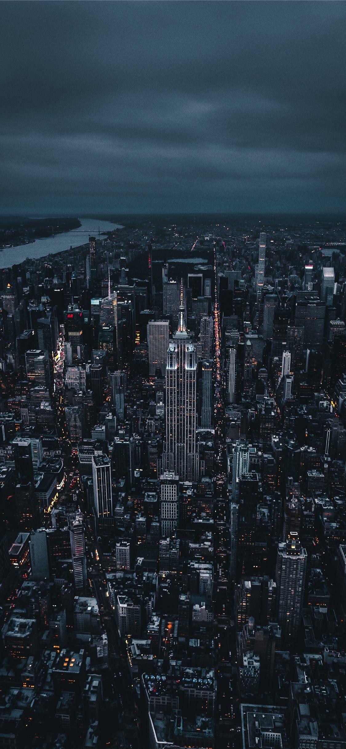 New York City Night Wallpaper Iphone