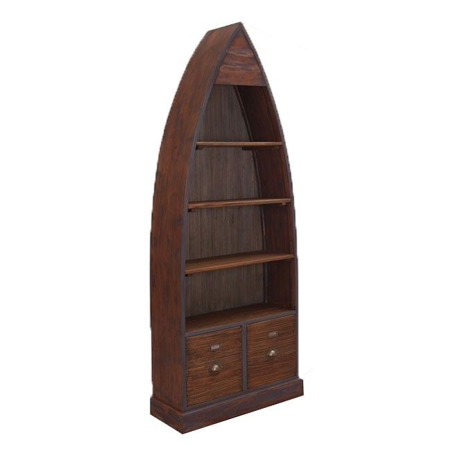 The Industrial Collection Dinghy Bookcase