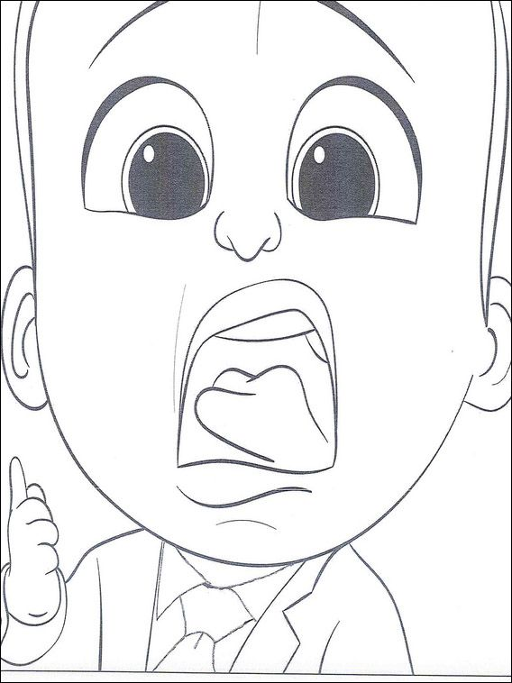 Boss Baby Coloring Pages 10 Coloring Pages For Kids