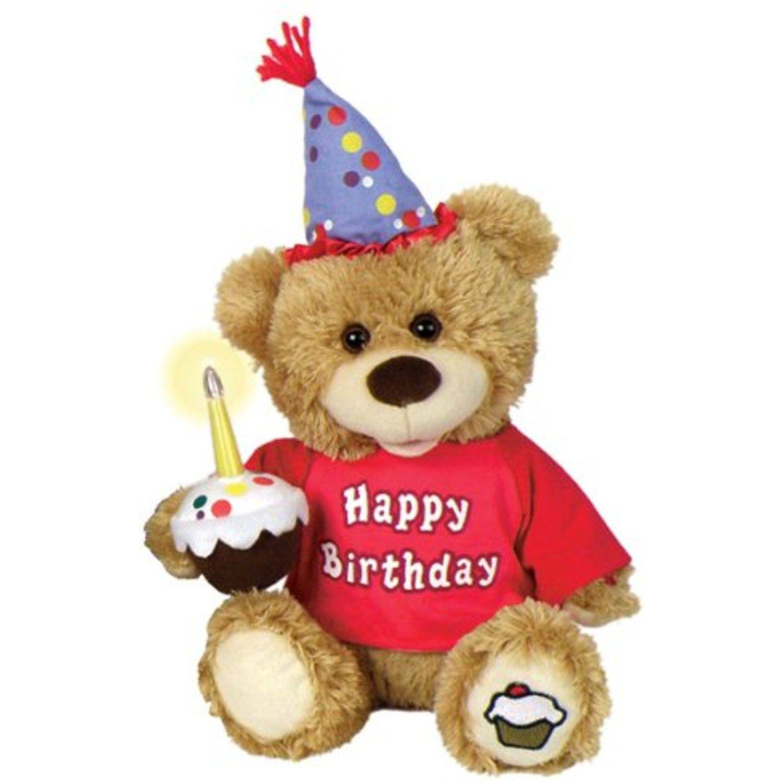 Chantilly lane cupcake birthday bear sings happy birthday