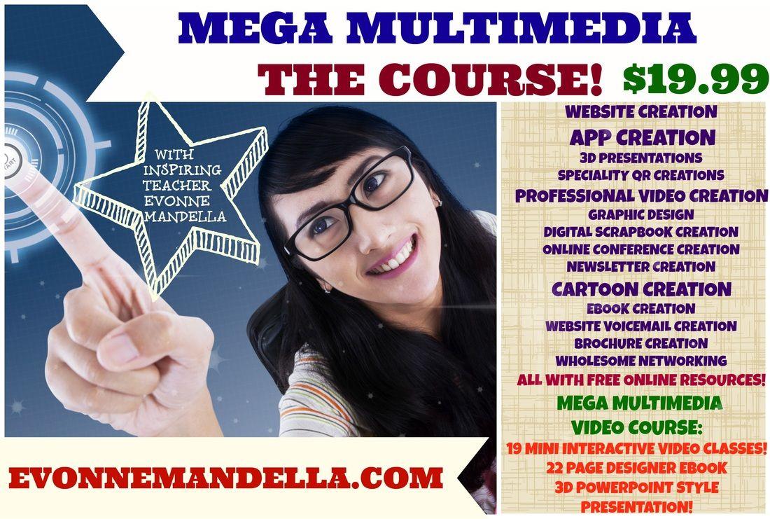Mega Multimedia Course 19.99 for 19 mini courses.