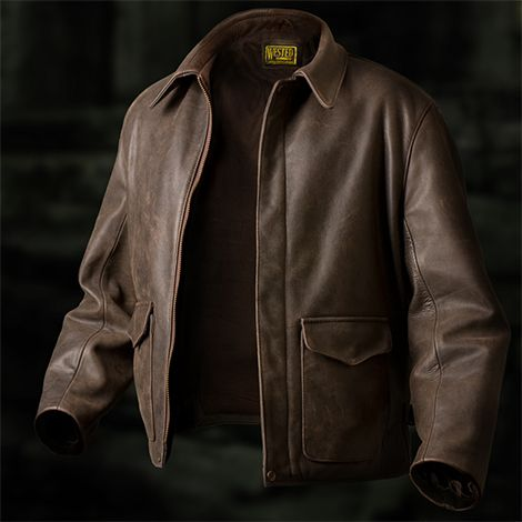 5095af500 Indiana Jones Style Jacket. An early version of the A2 pilots jacket ...