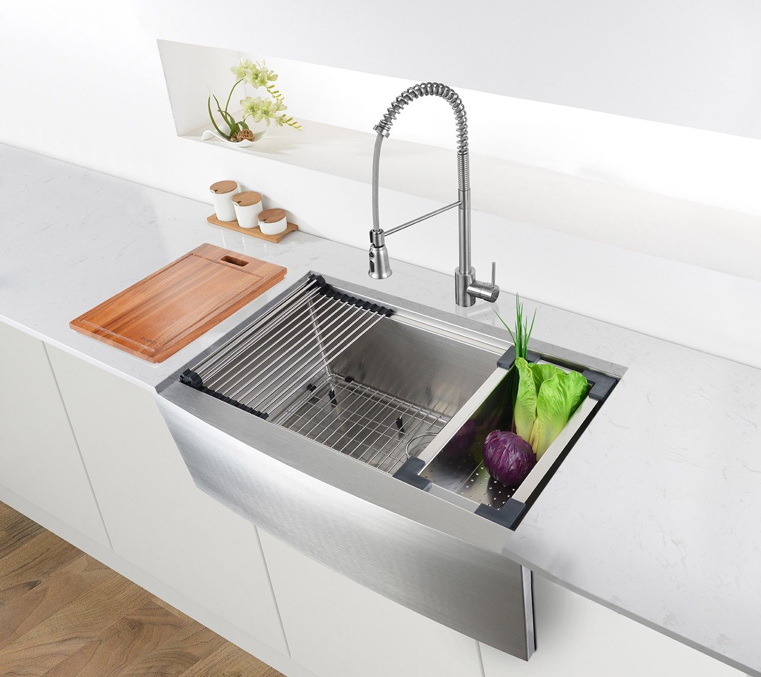 Best Of Farmhouse Kitchen Sink Protector Dengan Gambar