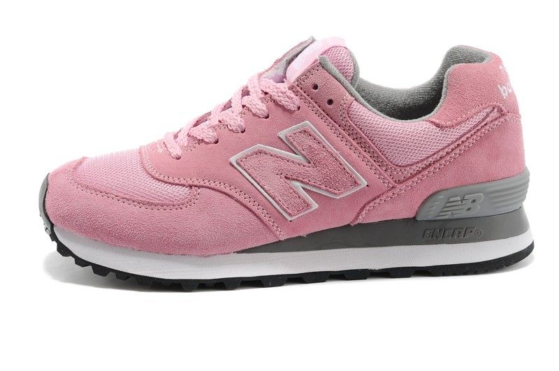 new balance kl574 rose et grise
