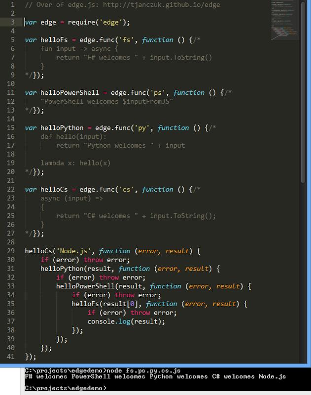 multi line strings in java script