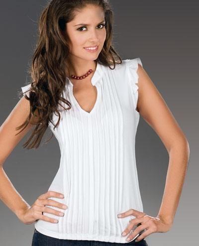 5795a397c743b Blusa blanca