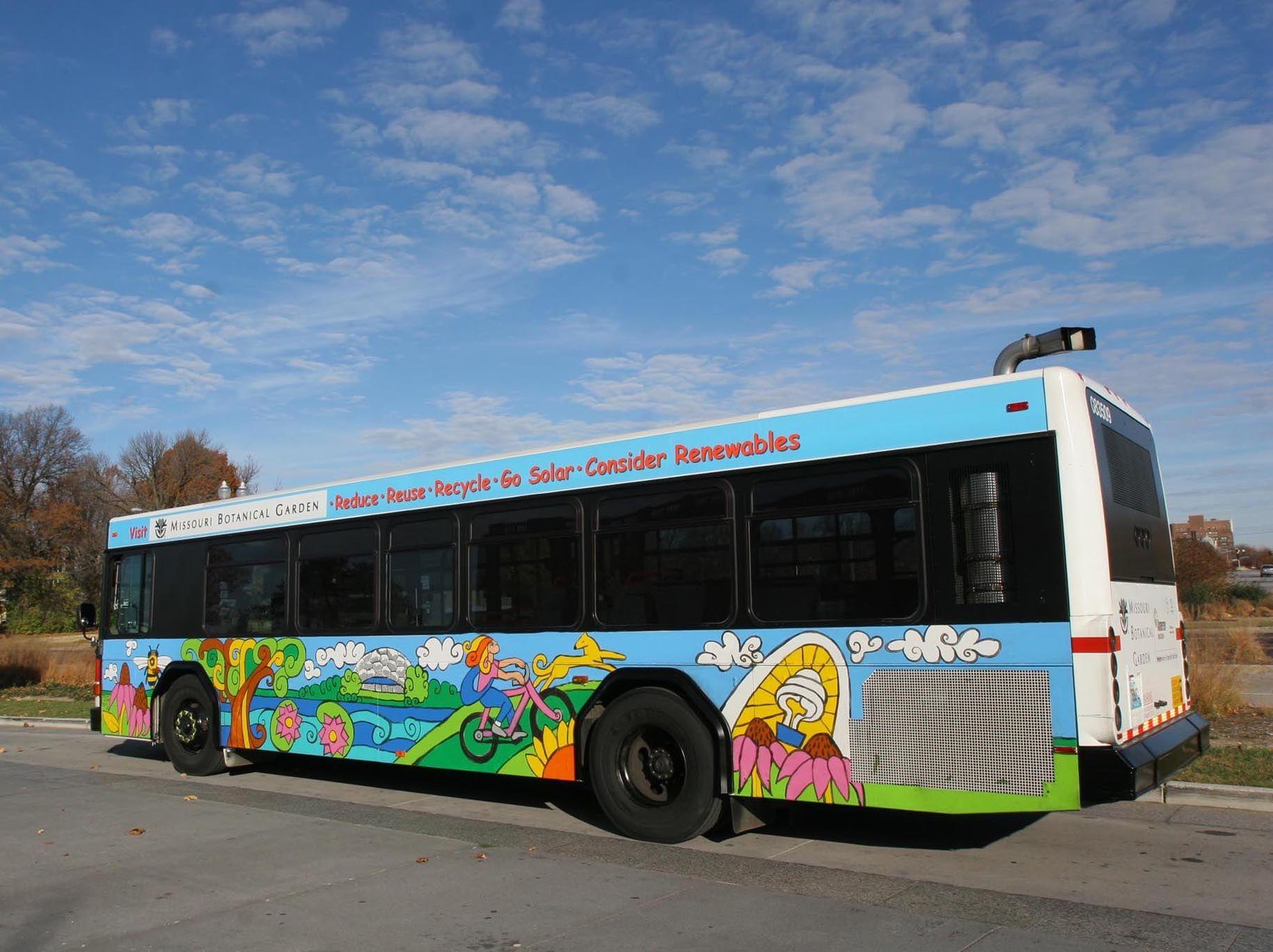 The Missouri Botanical Garen & Ameren Missouri Metro Bus i