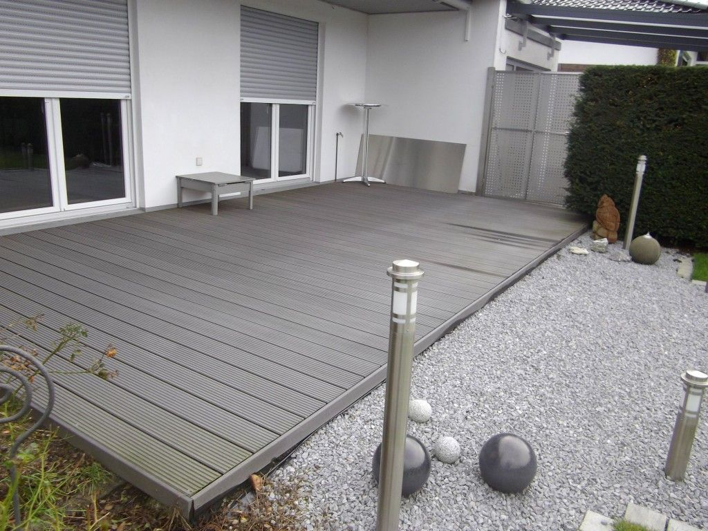 Neu Artificial exterior wood floor construction | Waterproof wpc  SI27