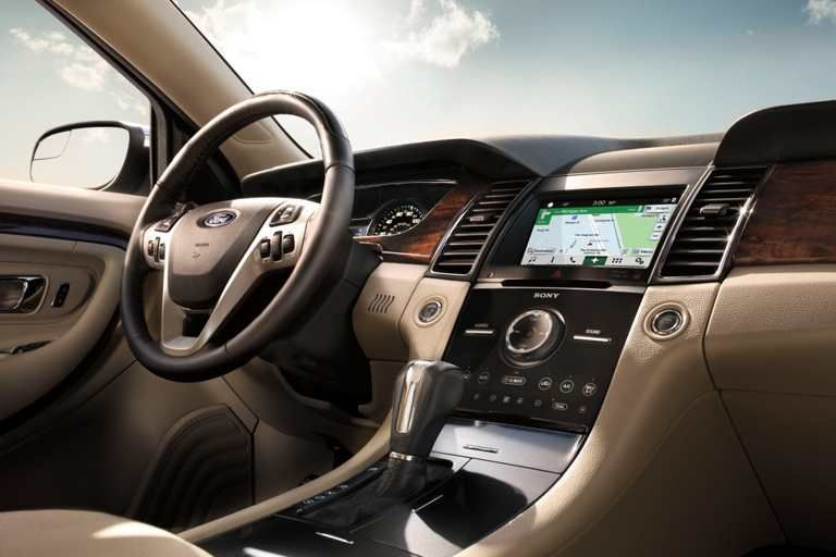 The Taurus Interior Features A Host Of Amenities Within Easy Reach Taurus Van Wert Ford